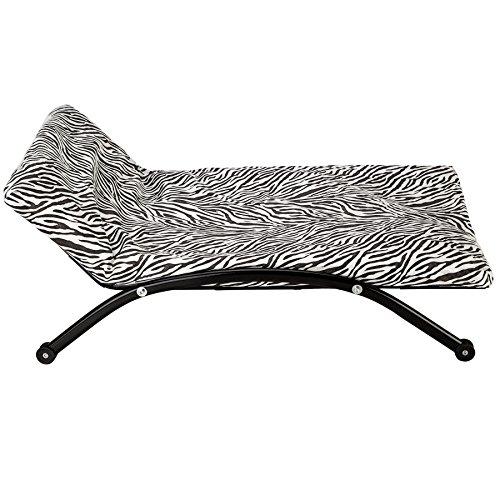 TecTake® Luxus Hunde Lounge Hundebett Hundekissen Hundesofa Schlafbett mit Gestell klein - 3