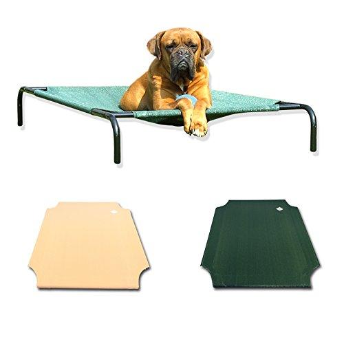 ERSATZBESPANNUNG Hundeliege große Hunde grün - 2